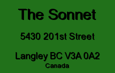 The Sonnet 5430 201ST V3A 0A2