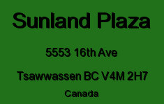 Sunland Plaza 5553 16TH V4M 2H7