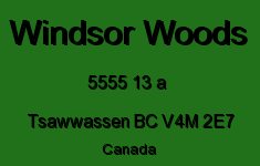 Windsor Woods 5555 13 A V4M 2E7