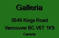 Galleria 5649 KINGS V6T 1K9