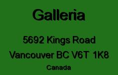 Galleria 5692 KINGS V6T 1K8