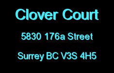 Clover Court 5830 176A V3S 4H5