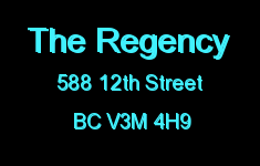 The Regency 588 12TH V3M 4H9