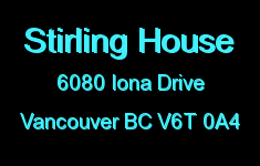 Stirling House 6080 IONA V6T 0A4