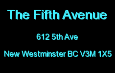 The Fifth Avenue 612 5TH V3M 1X5