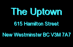 The Uptown 615 HAMILTON V3M 7A7