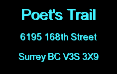 Poet's Trail 6195 168TH V3S 3X9
