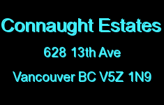 Connaught Estates 628 13TH V5Z 1N9