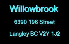 Willowbrook 6390 196 V2Y 1J2