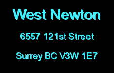 West Newton 6557 121ST V3W 1E7