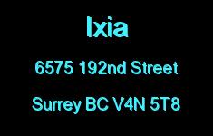 Ixia 6575 192ND V4N 5T8
