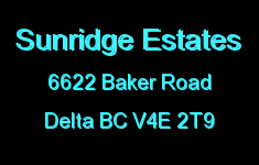 Sunridge Estates 6622 BAKER V4E 2T9