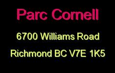Parc Cornell 6700 WILLIAMS V7E 1K5