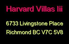 Harvard Villas Iii 6733 LIVINGSTONE V7C 5V8