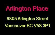 Arlington Place 6805 ARLINGTON V5S 3P1