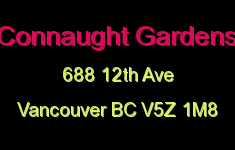 Connaught Gardens 688 12TH V5Z 1M8