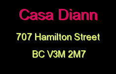 Casa Diann 707 HAMILTON V3M 2M7