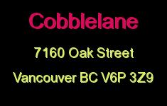 Cobblelane 7160 OAK V6P 3Z9