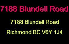 7188 Blundell Road 7188 BLUNDELL V6Y 1J4