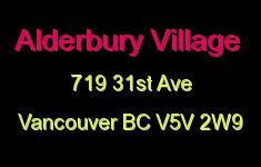 Alderbury Village 719 31ST V5V 2W9