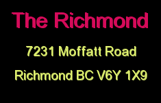 The Richmond 7231 MOFFATT V6Y 1X9