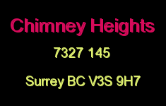 Chimney Heights 7327 145 V3S 9H7