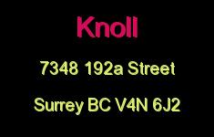 Knoll 7348 192A V4N 6J2