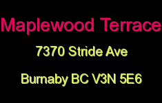 Maplewood Terrace 7370 STRIDE V3N 5E6