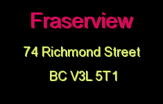 Fraserview 74 RICHMOND V3L 5T1