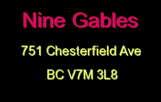 Nine Gables 751 CHESTERFIELD V7M 3L8