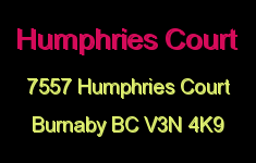 Humphries Court 7557 HUMPHRIES V3N 4K9