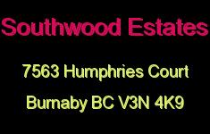 Southwood Estates 7563 HUMPHRIES V3N 4K9