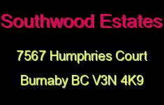 Southwood Estates 7567 HUMPHRIES V3N 4K9