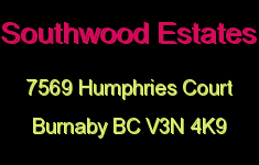 Southwood Estates 7569 HUMPHRIES V3N 4K9