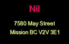 Nil 7580 MAY V2V 3E1