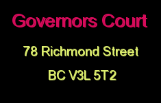 Governors Court 78 RICHMOND V3L 5T2