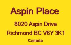 Aspin Place 8020 ASPIN V6Y 3K1