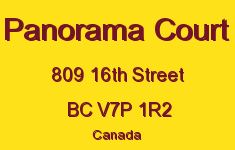 Panorama Court 809 16TH V7P 1R2