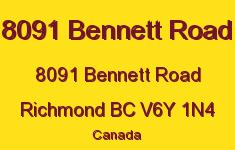 8091 Bennett Road 8091 BENNETT V6Y 1N4