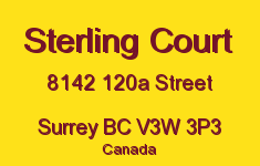 Sterling Court 8142 120A V3W 3P3