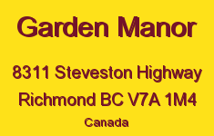 Garden Manor 8311 STEVESTON V7A 1M4