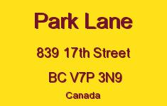 Park Lane 839 17TH V7P 3N9