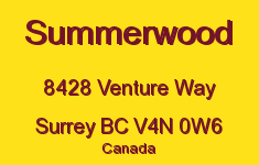 Summerwood 8428 VENTURE V4N 0W6