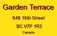 Garden Terrace 848 16TH V7P 1R3