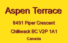 Aspen Terrace 8491 PIPER V2P 1A1