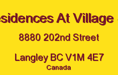 The Residences At Village Square 8880 202ND V1M 4E7