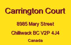 Carrington Court 8985 MARY V2P 4J4