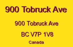 900 Tobruck Ave 900 TOBRUCK V7P 1V8