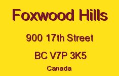 Foxwood Hills 900 17TH V7P 3K5