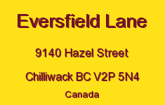 Eversfield Lane 9140 HAZEL V2P 5N4